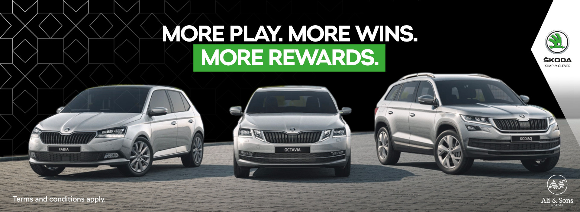 More Play. More Wins. More Rewards.